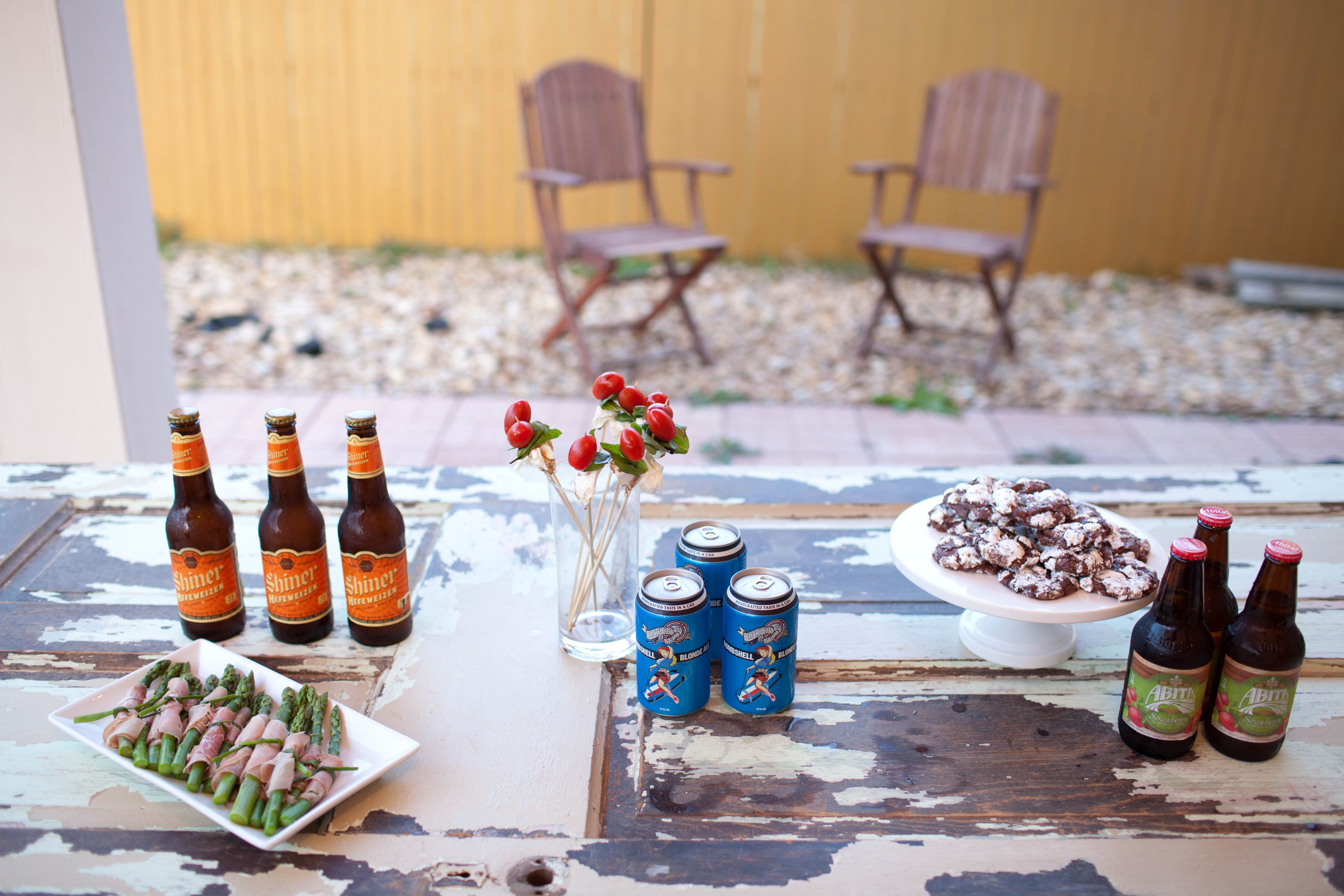 backyard beer pairing party | I Just Like This ...