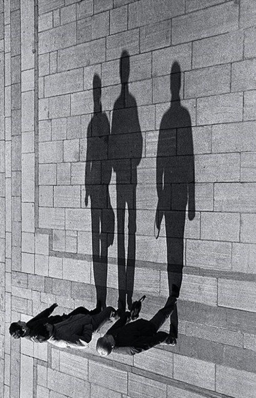 we strut in the shadows.