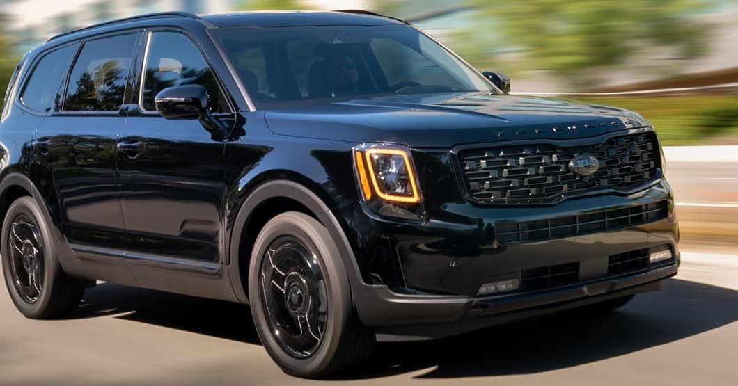 the kia telluride is coming out with a another new style