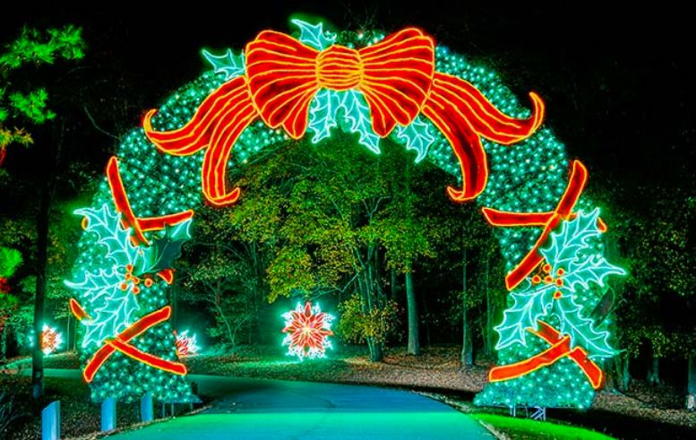 Visit Callaway Gardens' Fantasy In Lights This Christmas