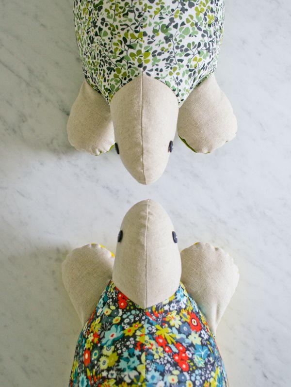 Schildkröten | Tierisch viel zu nähen | Pinterest | Kuscheltiere ...