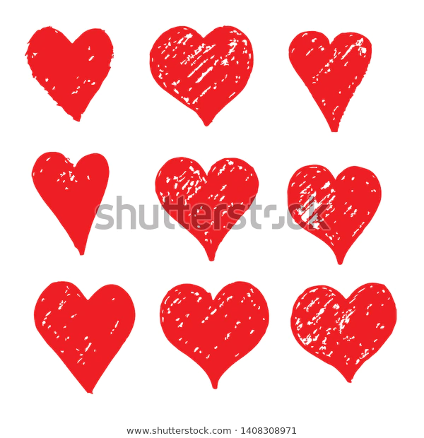 Hand Drawn Heart Icon Sign Stock Vector Royalty Free 1408308971 Heart Hands Drawing How To Draw Hands Heart Icons