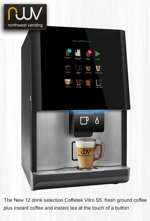 Coffetek Vitro S5, ground coffee plus instant coffee and