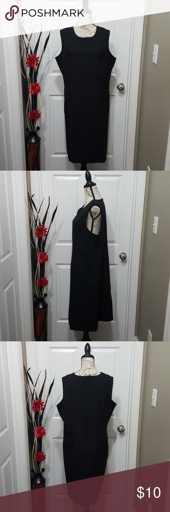 Black Dress Shell Plus Size 18 Black Dress Size 18 Size 18 Dress [ 1740 x 580 Pixel ]