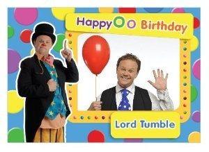 Birthday Card Birthday Cards Mr Tumble Birthday