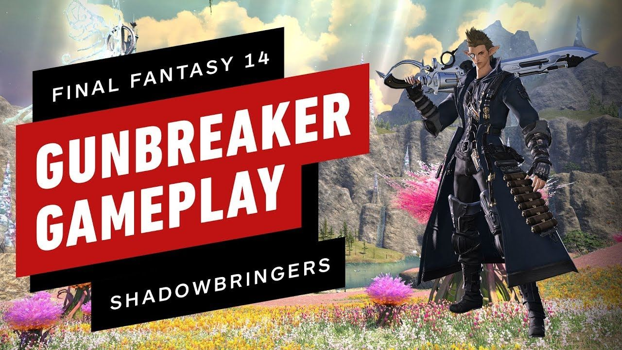 Final Fantasy XIV: Shadowbringers - Gunbreaker and Trust Dungeon Gameplay