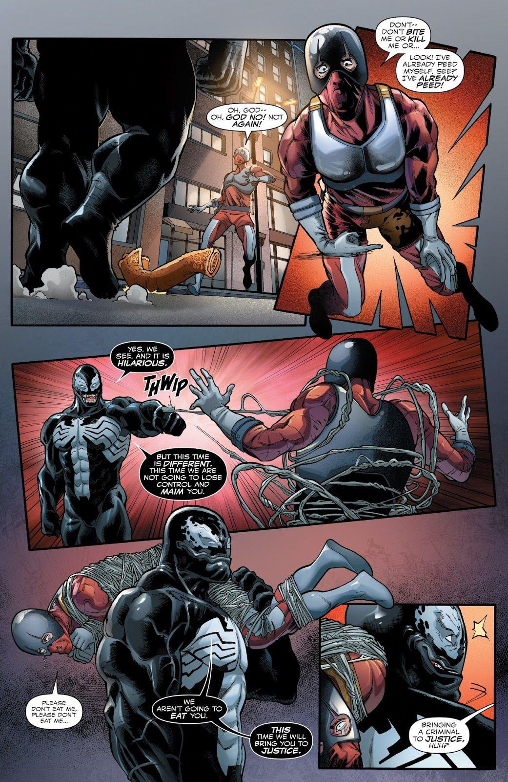 Venom 2016 Issue 161 Read Venom 2016 Issue 161 Comic Online In High Quality Spiderman Scary Superhero