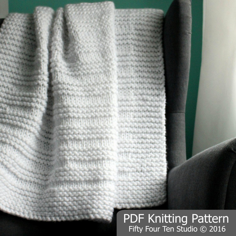 KNITTING PATTERN / Blanket / Where the Sidewalk Ends / Throw ...