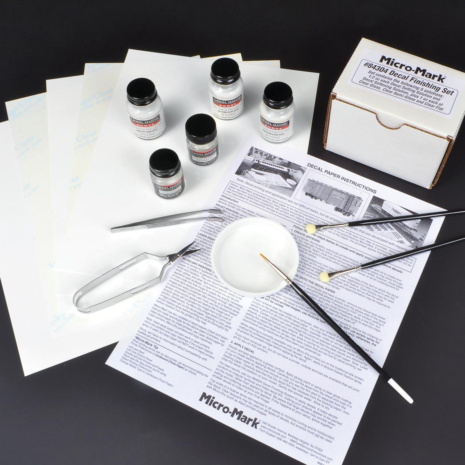 MicroMake™ Inkjet DecalMaking Super Value Package