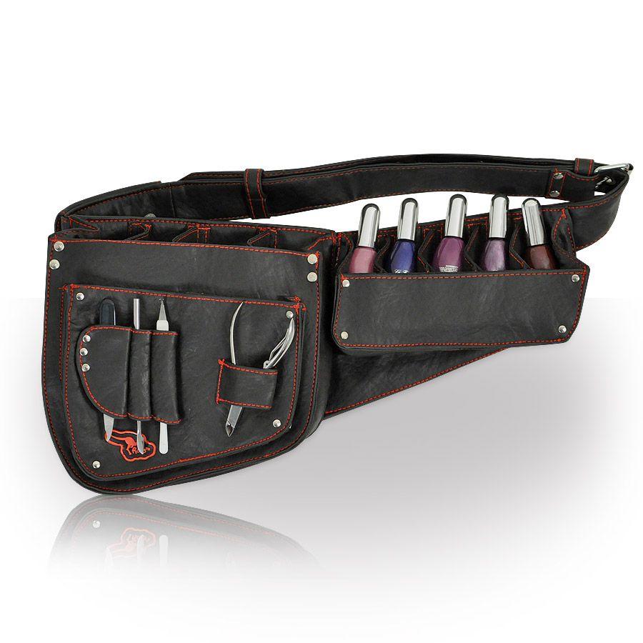 Nail Technician Session Belt in Black Roo Beauty UK
