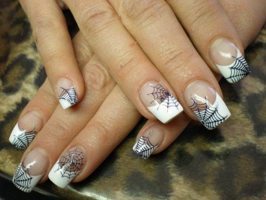 uñas-decoradas-de-halloween | Nails and makeup | Pinterest | Uña ...