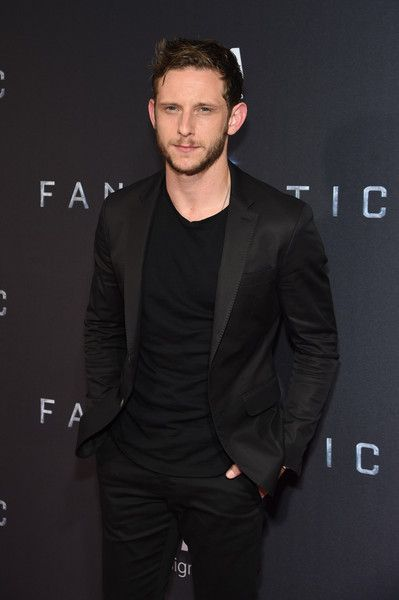 "Jamie Bell Photos - Actor Jamie Bell attends the New York premiere of ""Fantastic Four"" at Williamsburg Cinemas on August 4, 2015 in New York City. - Guests Attend the 'Fantastic Four' New York Premiere"