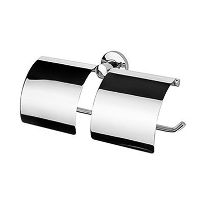 Nameek S Inc Geesa 148 Standard Hotel Double Roll Toilet Tissue Holder Double Toilet Roll Holder Toilet Paper Roll Holder Toilet Roll Holder