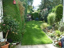 reihenhausgarten | small garden ideas | pinterest, Garten und bauen