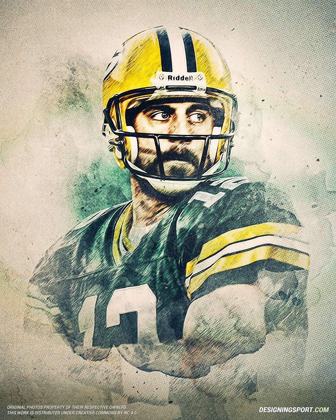 Designing Sport Aaron Rodgers Green Bay Packers Green Bay Rodgers Green Bay Aaron Rodgers