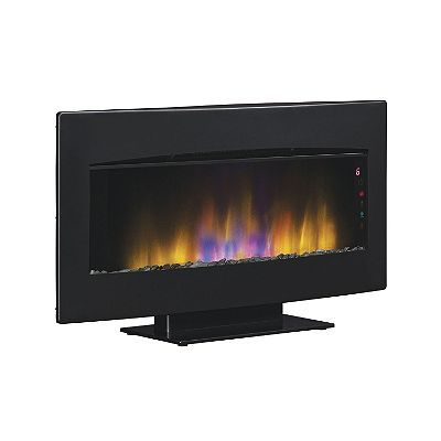 Twin Star Classic Flame Wall Hanging Fireplace With Heater