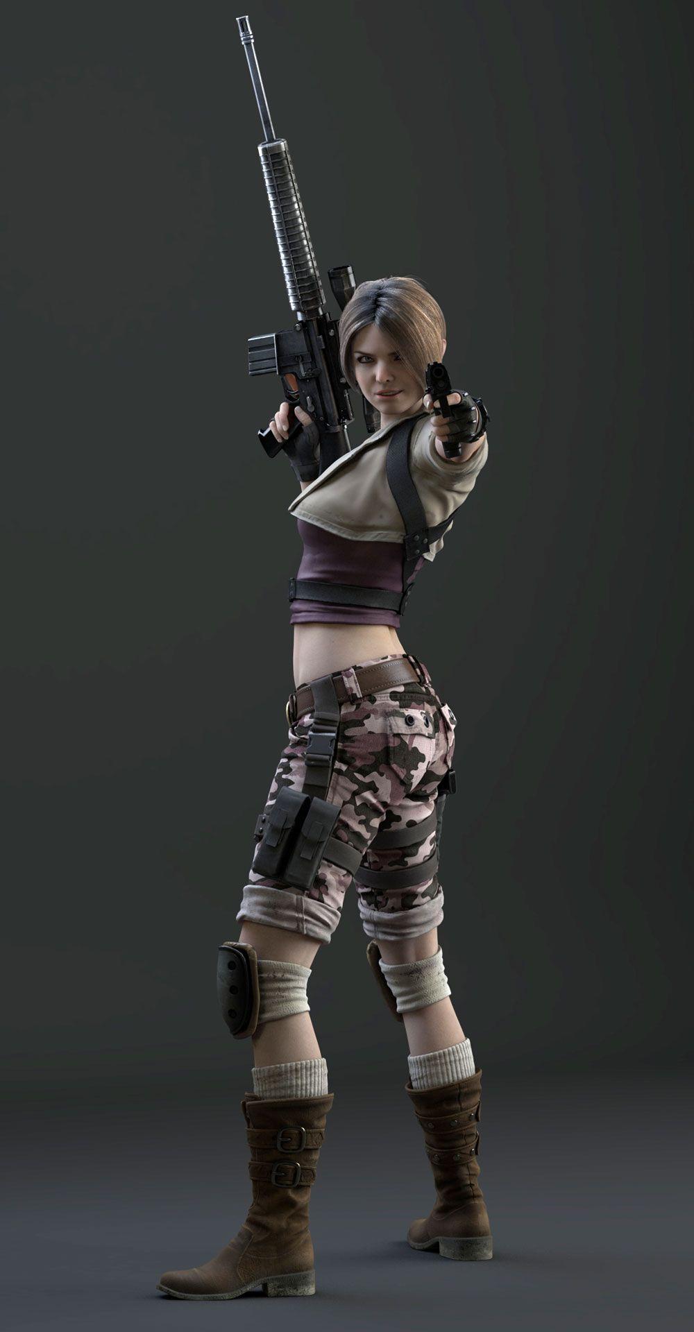 Party Girl Resident Evil Girl Operation Raccoon City Resident Evil
