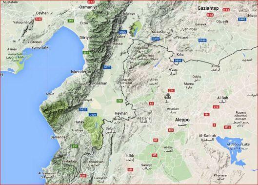 CNA: Bandas de mercenarios-terroristas [en la nómina de Arabia y al servicio de la OTAN] están desplegando armas químicas cerca de Alepo