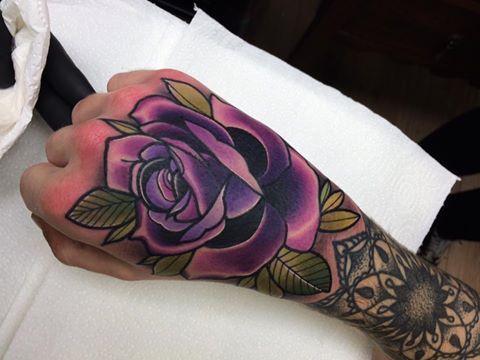 e0b13b36e Matt Webb | other | Tattoos, Hand tattoos, Purple tattoos
