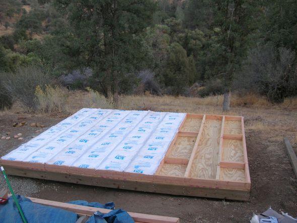 image result for how to insulate shed floor building. Black Bedroom Furniture Sets. Home Design Ideas