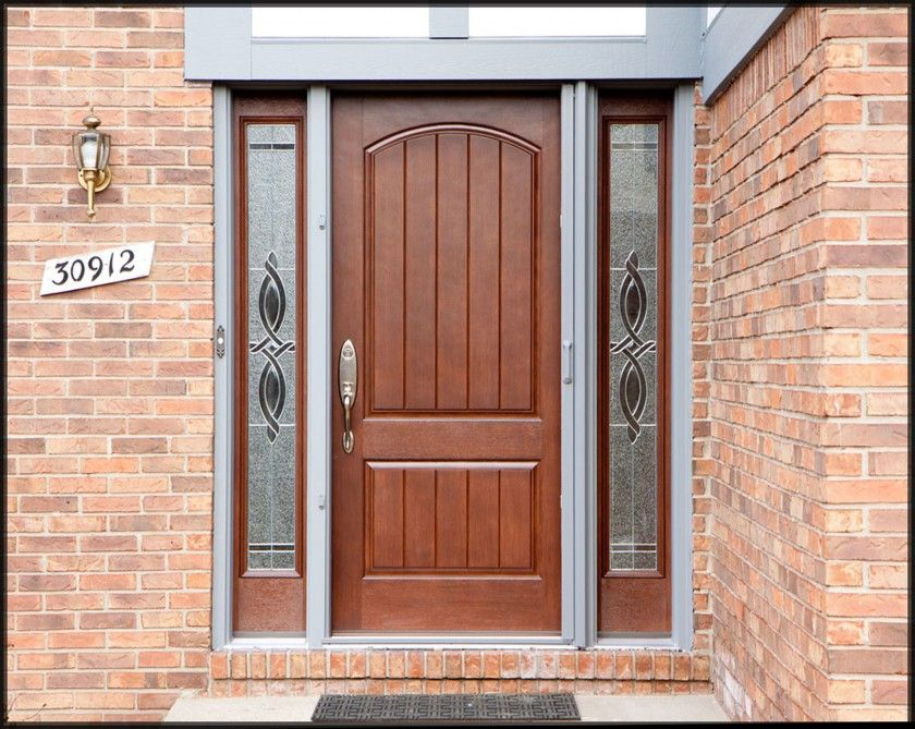 Black Glass Door Sticker Design Interior Design Modern Front Door Front Door Design Door Design