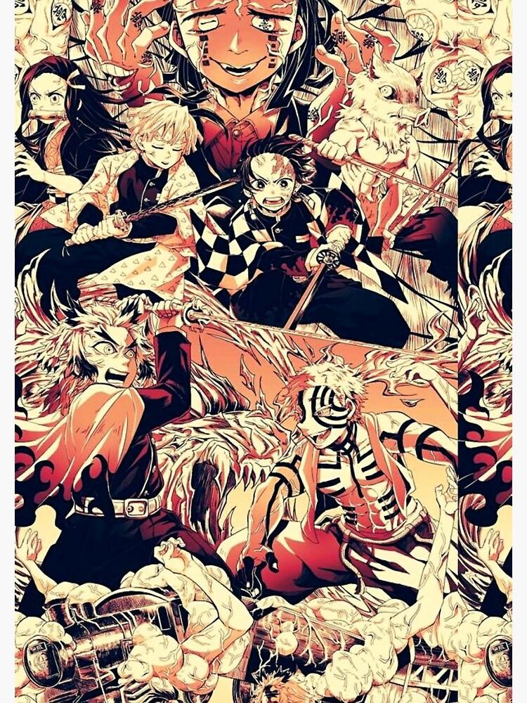 Demon Slayer Fightscene Spiral Notebook