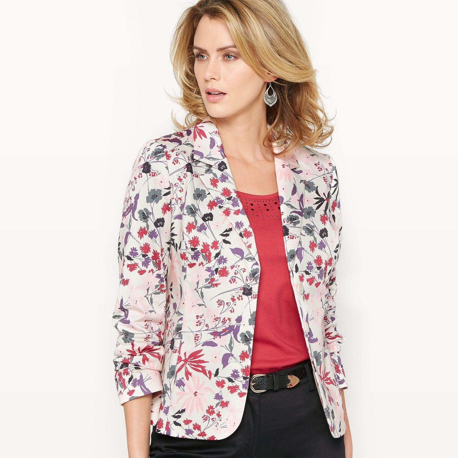 La Redoute Womens Cotton Satin Jacket