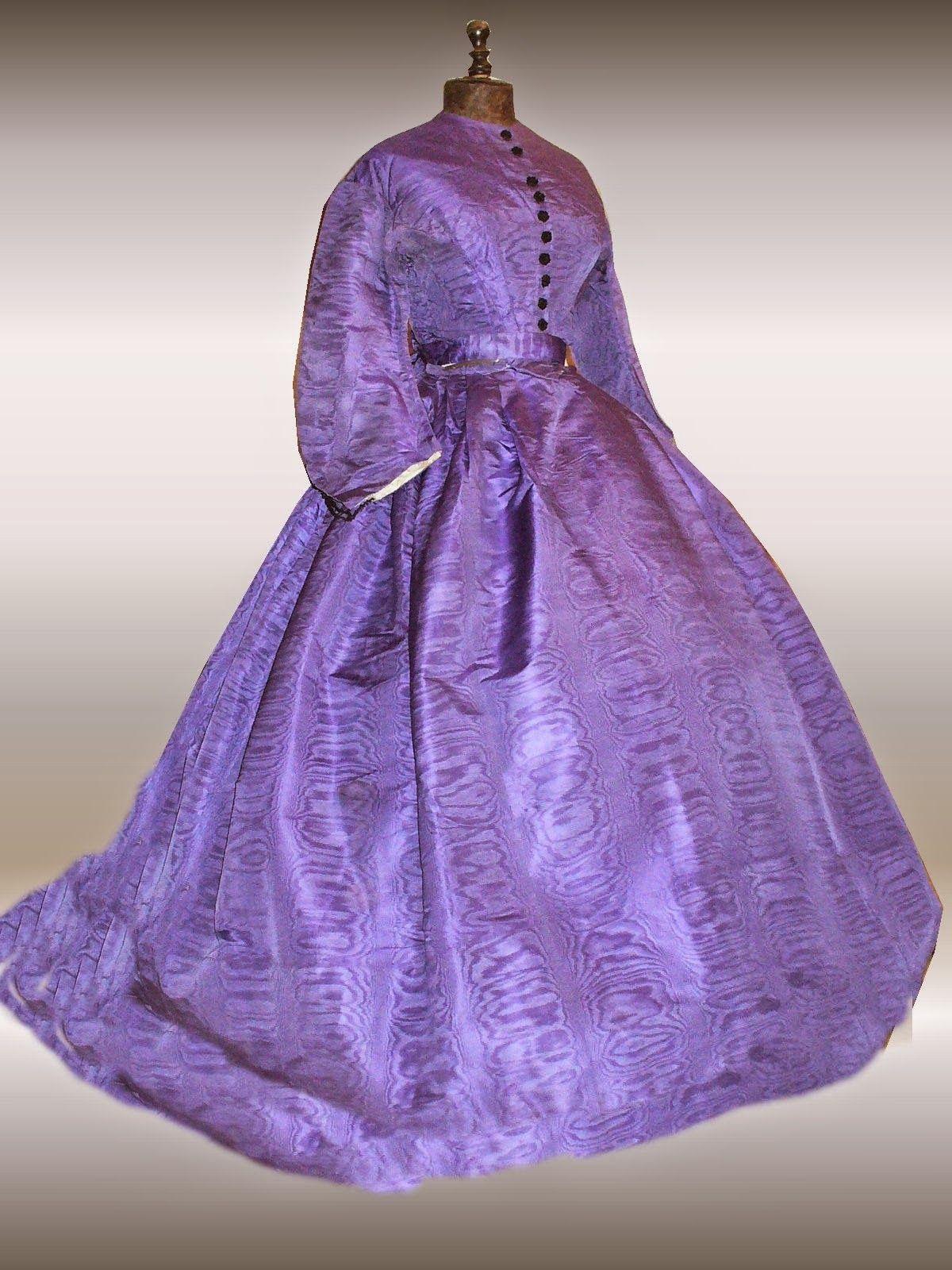 All The Pretty Dresses 1860 S Lavender Colored Dress Lavender Color Dress Historical Dresses Dresses [ 1600 x 1200 Pixel ]