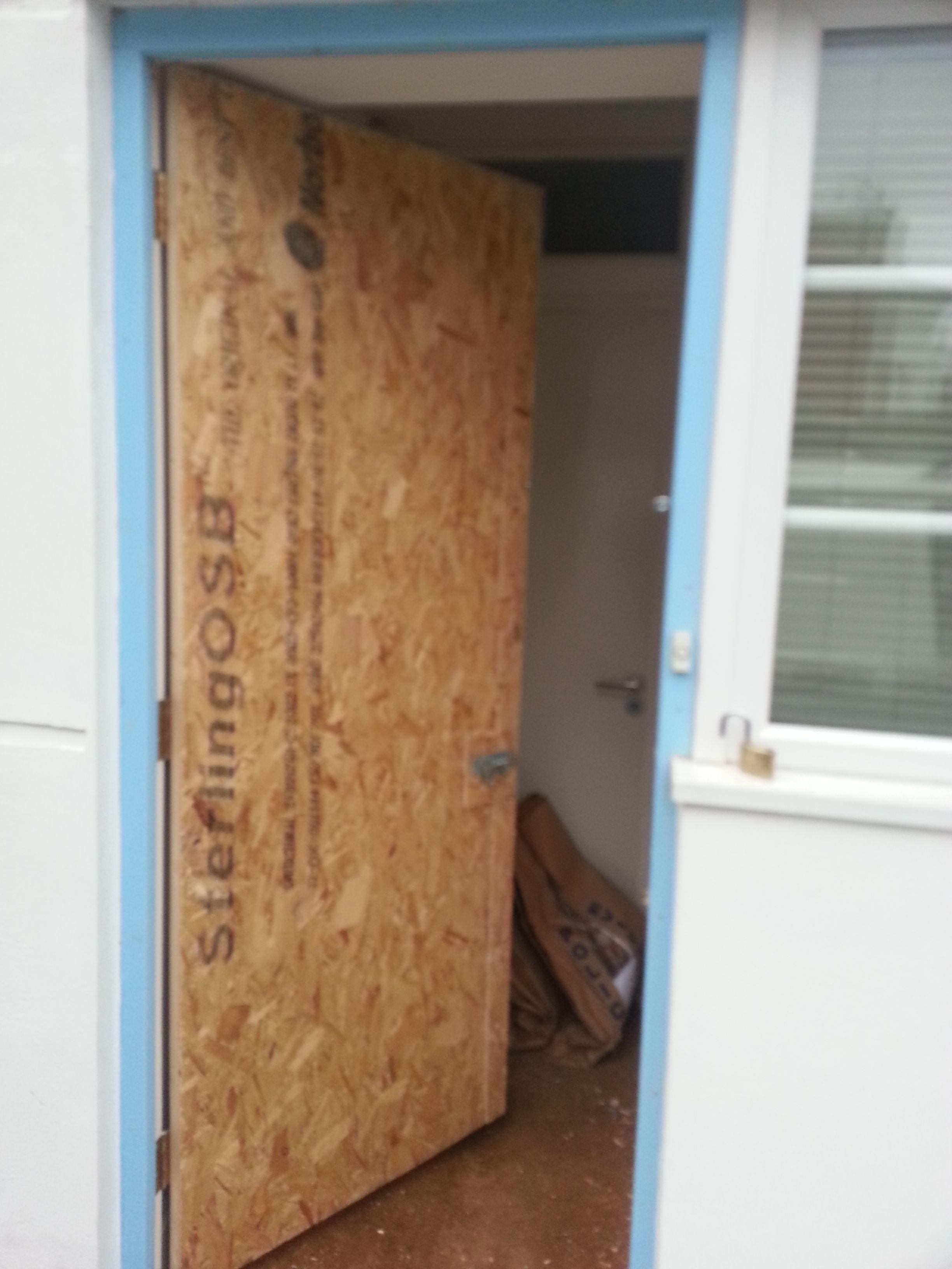 Temporary Front Door Lock | http://thewrightstuff.us | Pinterest ...