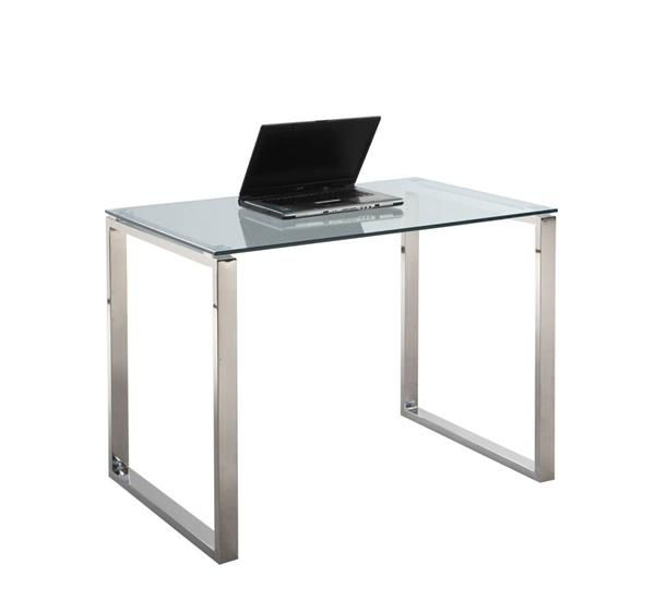 Chintaly Imports Small Desk Table Modern Small Desk Small