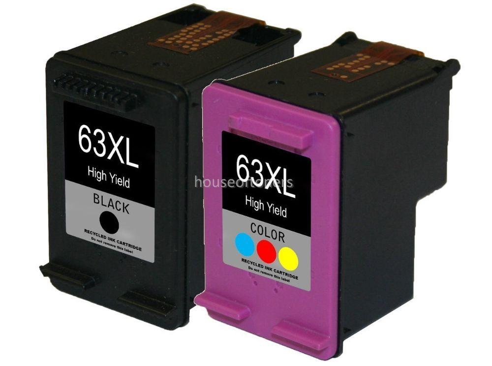 Compatible Ink Cartridges for HP 63XL Deskjet 1110 1112 2130 3630 3632 3634 3636