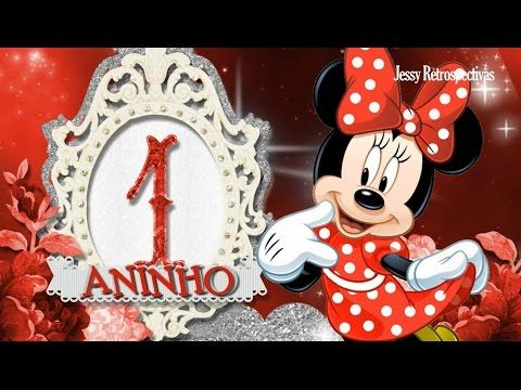 Convite Animado Minnie Vermelha Youtube Minnie Vermelha