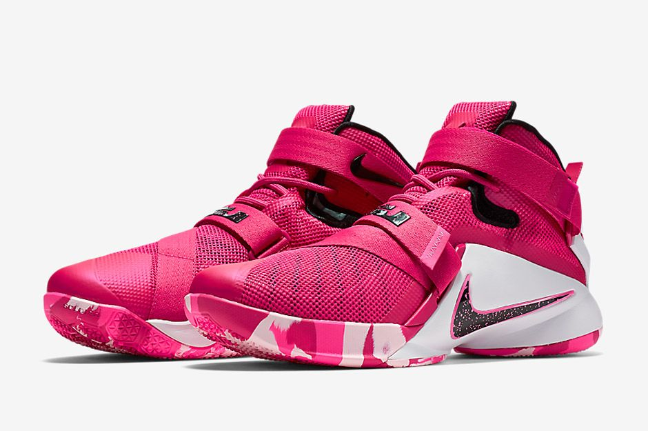7c02a22e Nike's Think Pink Is Back With A New LeBron Soldier 9 - SneakerNews.com