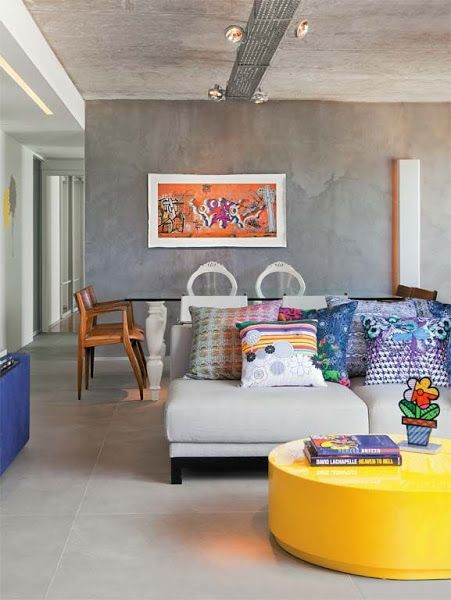 Cemento a la vista en las paredes Cemento, Decorar tu casa y La vista - paredes de cemento
