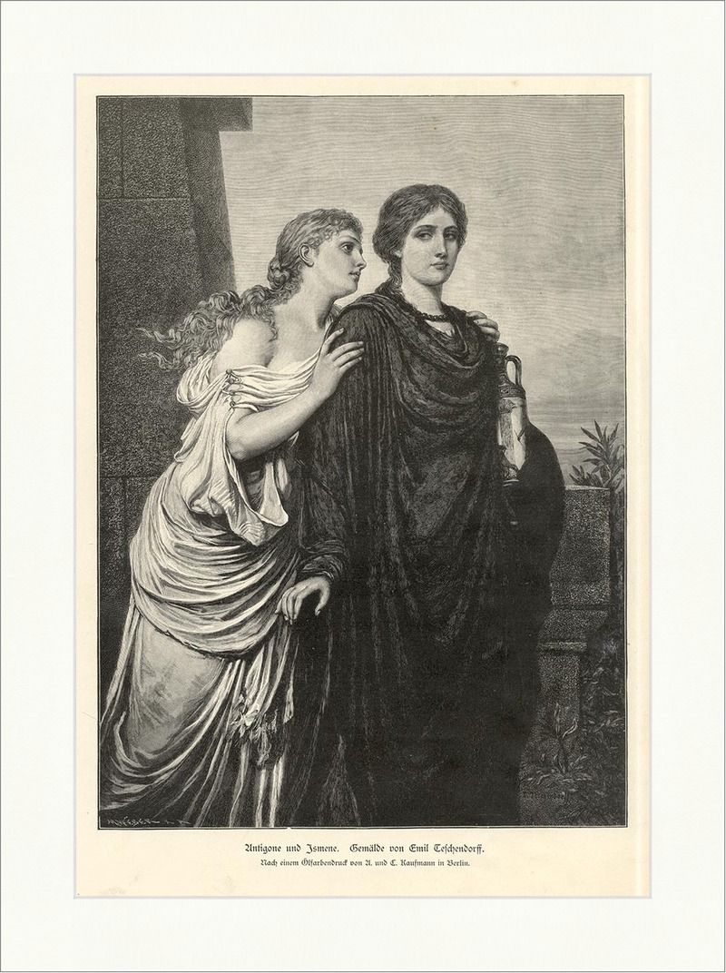 a description of antigone the greek mythology written by sophocles Greek cultural values in antigone  antigone by sophocles is a play that reflects many of  the sentry's description of antigone makes it seem like the.