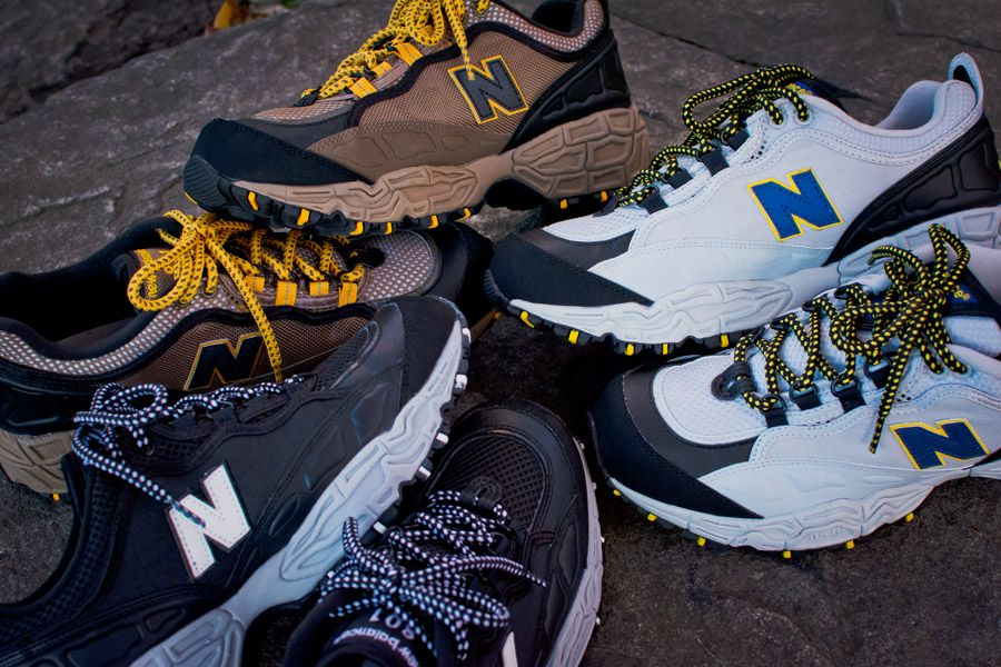 huge discount 3d59d a700a Taking it back to the 90s, the New Balance 801 trail runners are back.