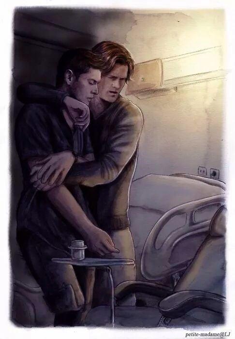 Supernatural Dean Winchester X Sam Winchester Wincest