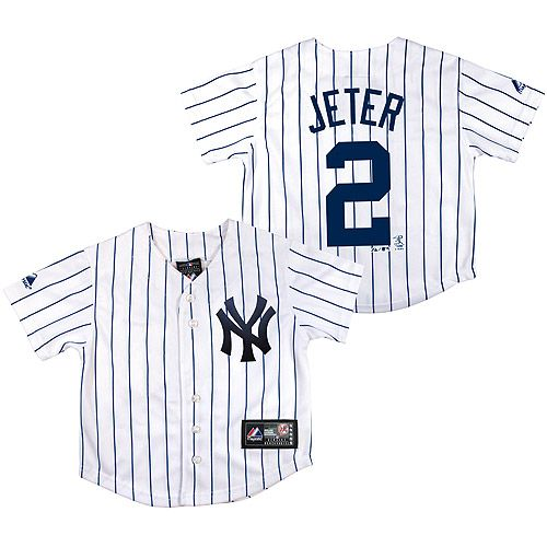7abd792a4 New York Yankees Infant Replica Derek Jeter Jersey by Majestic Athletic -  MLB.com Shop