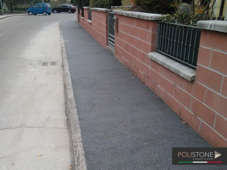 Granuresina è una pavimentazione in pietra naturale ...