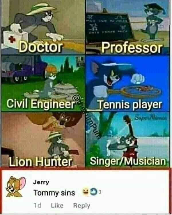 Jerry need to mind his own business !!!