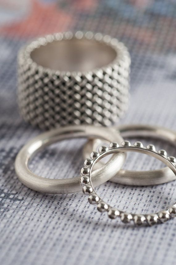 knitted bands with rings fituperlative square pattern image to inspirations ring mens wedding superlative