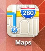 Just a reminder that the Apple Maps icon suggests that you drive right off an overpass.  At least no one can accuse them of false advertising.  (HT: Reddit)