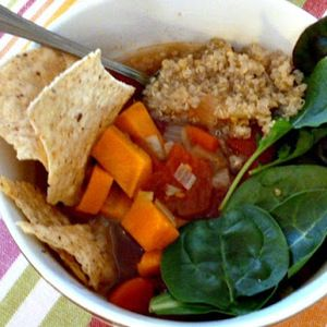 Low Sodium Recipes - Quinoa Soup with Sweet Potatoes, Tomatoes, and Power Greens recipes -  -  Looking for  Quinoa Soup with Sweet Potatoes, Tomatoes, and Power Greens recipes, then  a person   arrived at  the right  spot . This Awesome Quinoa Soup with Sweet Potatoes, Tomatoes, and Power Greens recipes Recipe surely  may  bright  every day .  It  is usually  easy to create,  plus  do not need  put in  a lot of  period . Also you can  get the  ingredient near you  effortlessly . #Quinoa #Soup #w