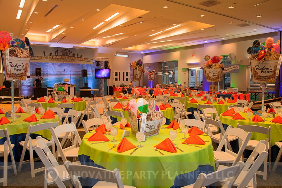 Ocean City Themed Bar Mitzvah Party For Blaine Catered By Zeffert
