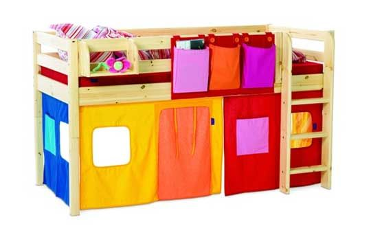 Flexa Tent Bed.Bunk Bed Curtains By Flexa She S Crafty Bunk Bed