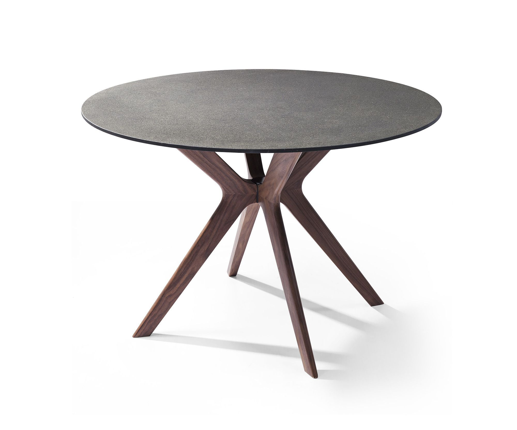 Redondo Round Dining Table Glass And Stone Top Dining Table Round Dining Table Glass Dining Table