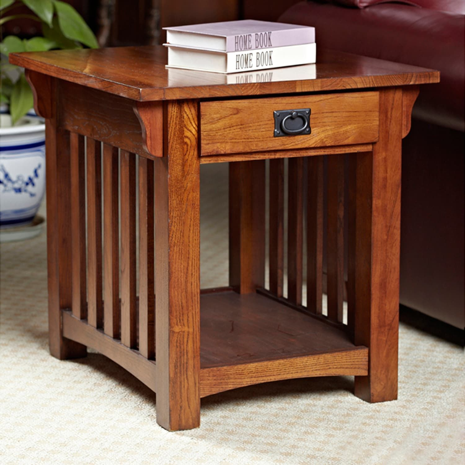 Astonishing Leick Furniture Mission Sienna End Table In 2019 Bathroom Pdpeps Interior Chair Design Pdpepsorg