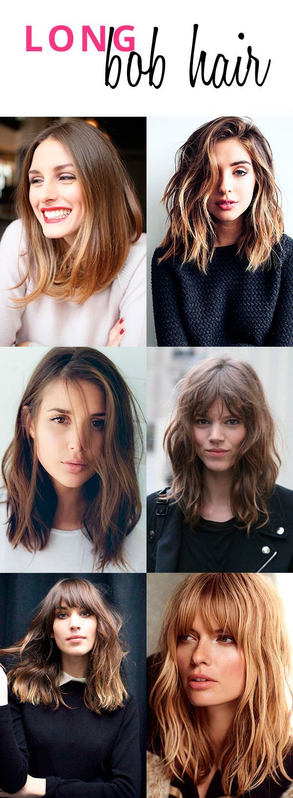 maneiras de usar o long bob hair long bob bobs and hair style