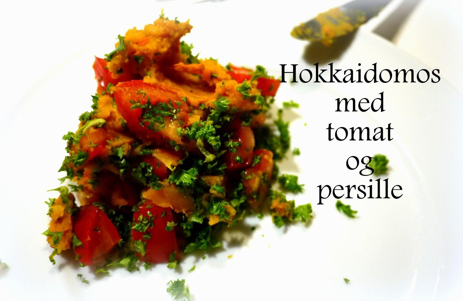 Paleolivet: Hokkaidomos med friske tomater og persille