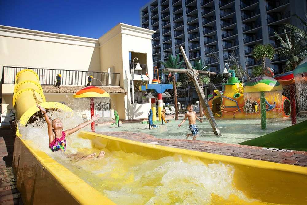 Sea Crest Pools Water Parks Myrtle Beach Resort Yeehaw Can
